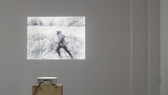 "Samson Kambalu ""Psychogeographical Nyau Cinema"" (2015). Detalje. Foto: Frida Gregersen"
