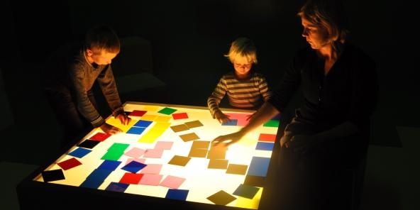 Pixelade (2014). Installationsview. Nikolaj Kunsthal. Foto: Lea Nielsen